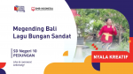 SD NEGERI 10 PEDUNGAN_MENGENDING BALI LAGU BUNGAN SANDAT